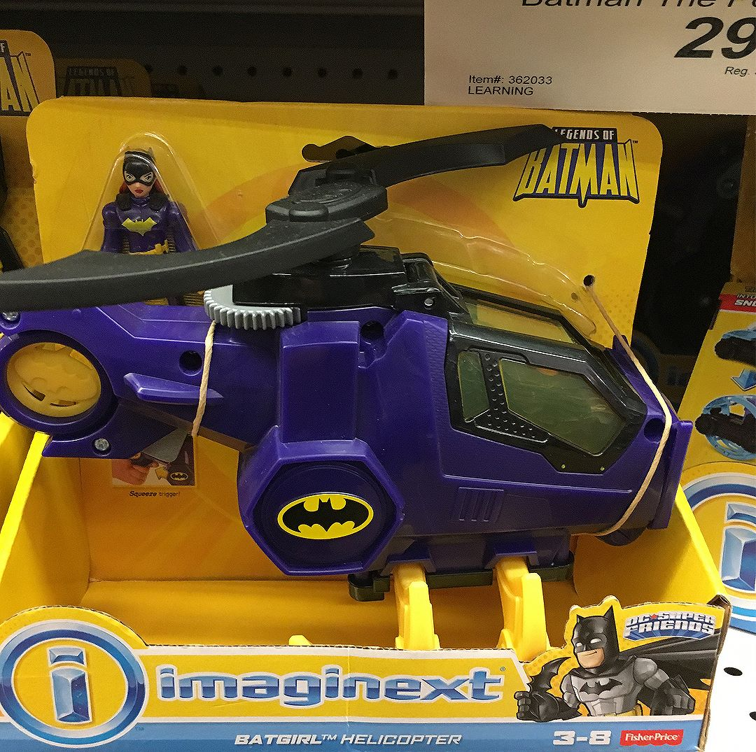 Spotted some new @dccomics @imaginext sets last night