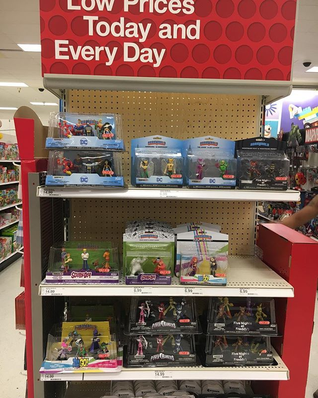 I finally found a @target in So Cal that put up the endcap of @originalfunko Figures