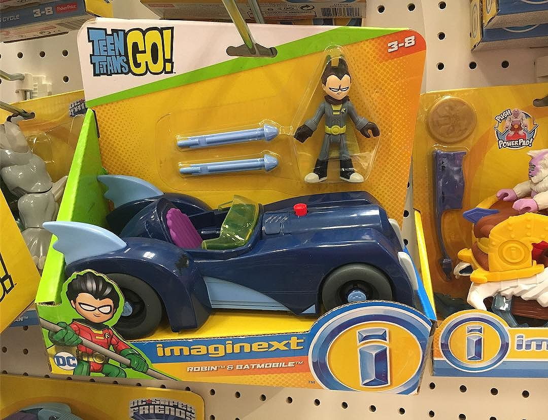 @imaginext does the Batmobile as part of their sub-line