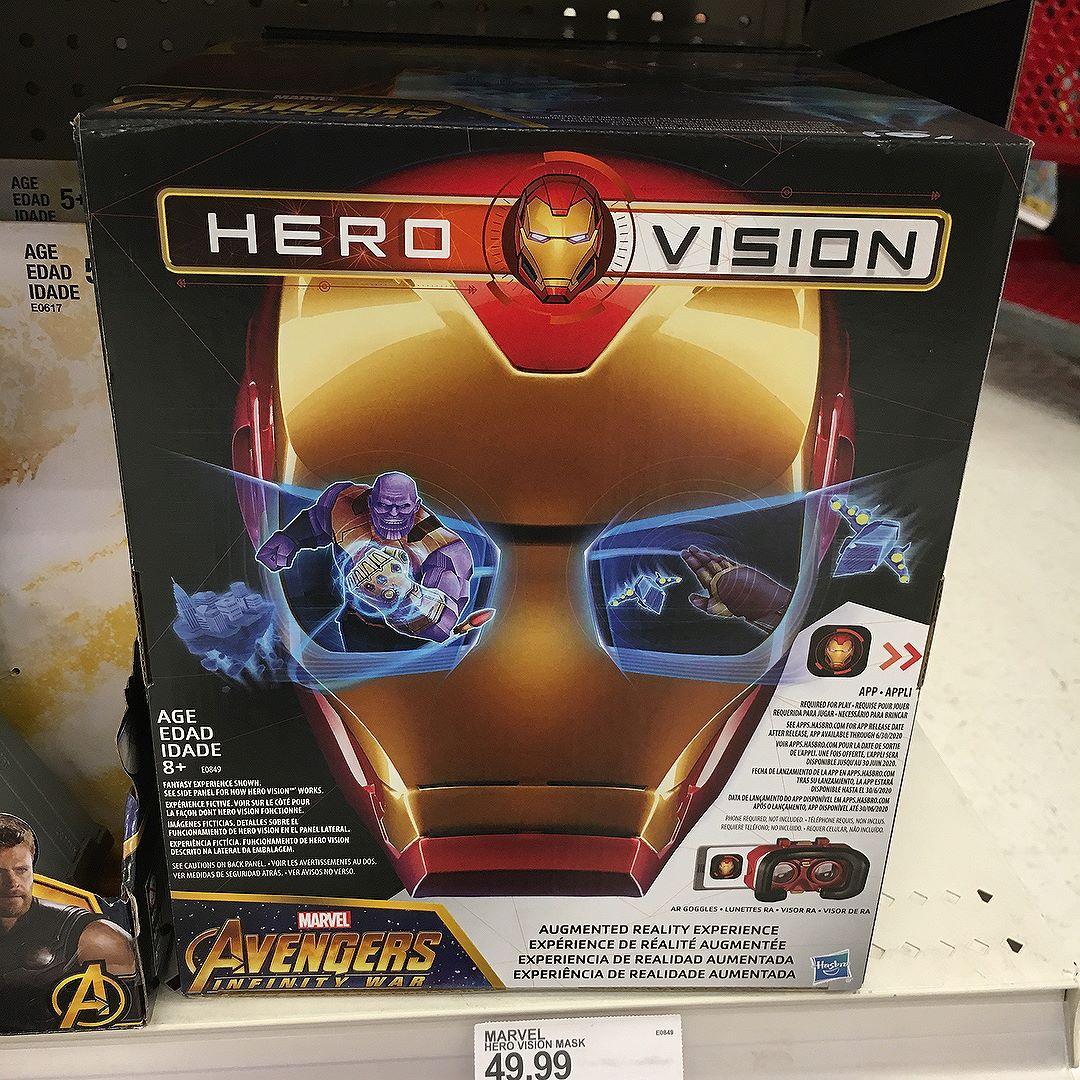 @hasbro Hero Vison mask