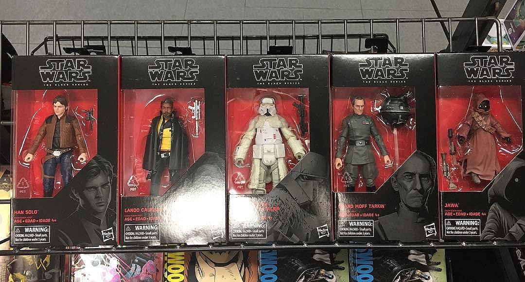 Looks like sent out the new figures. Found at @thecomicbug
