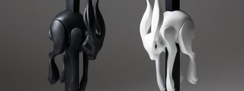 Jumper Matte Black Art Figure By Colus x Kidrobot Brand New