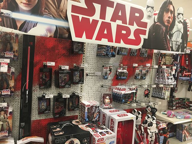 Someone forgot to tell @target and @walmart that the embargo for the stuff was lifted yesterday.