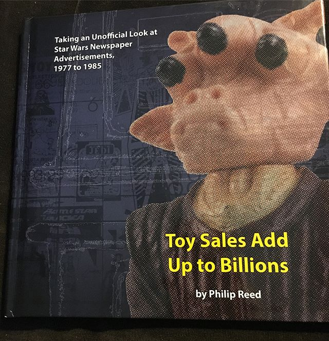 Woo hoo! Got the new @philipjreed book in the mail today, chocked full of awesome ads from the 70s and 80s. I'm looking forward to pouring over it.