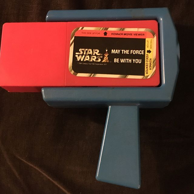 You kids today with your @hulu , your streaming and your @amazonprimenow !  Back in my day if you wanted to see your favorite movie at home you had to use one of these!  And crank it yourself!