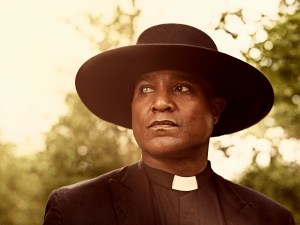 Seth Gilliam as Father Gabriel Stokes - The Walking Dead _ Season 9, Gallery- Photo Credit: Victoria Will/AMC
