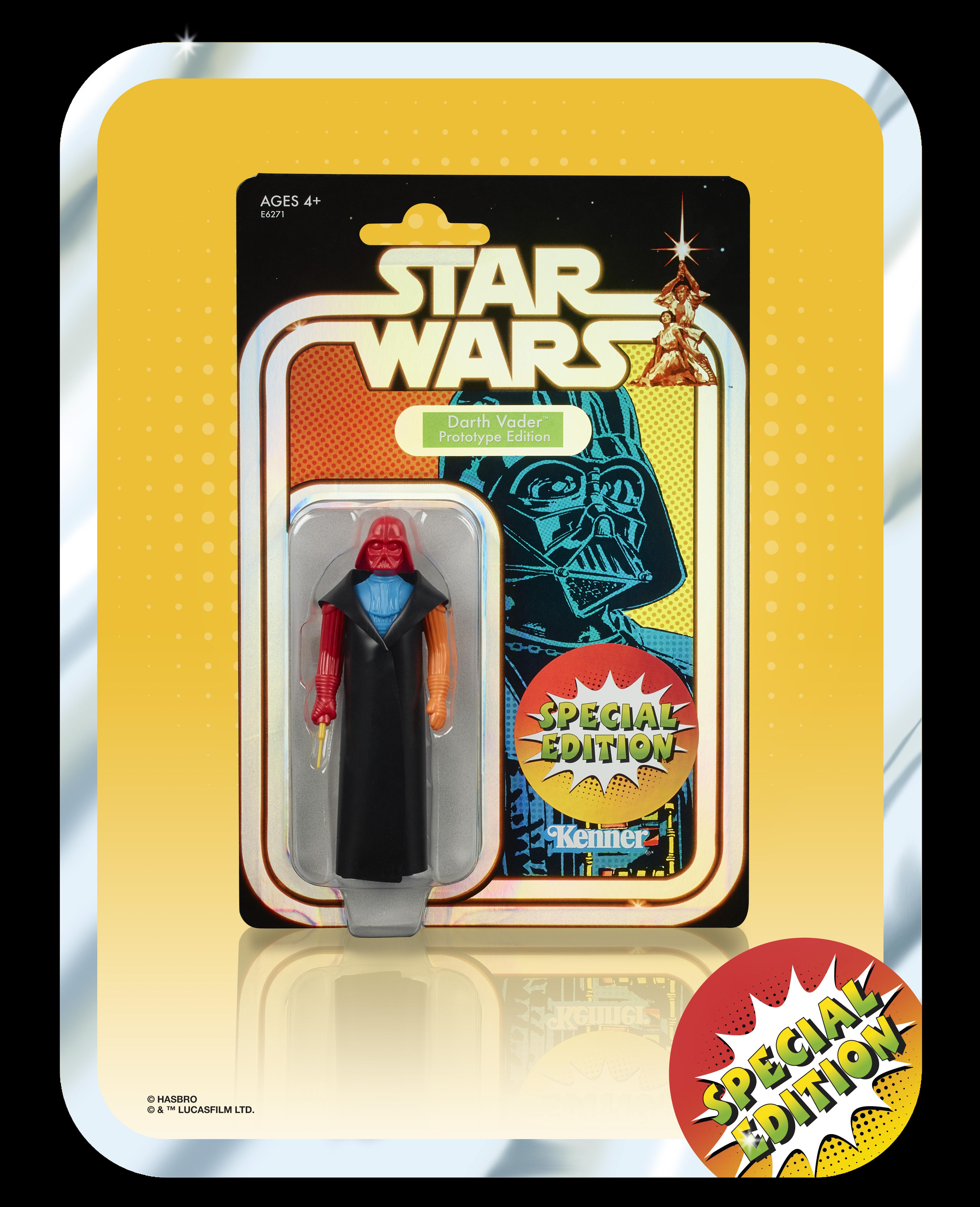 """Star Wars Darth Vader Prototype Retro Edition SDCC 2019 3.75"""" Multi Color Minty"""
