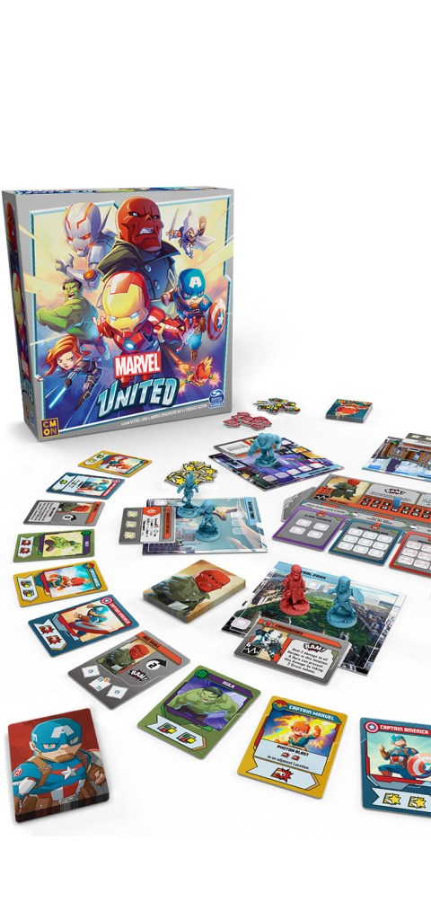 @SpinMaster Games and CMON Launch the First-Ever #Marvel Game on #Kickstarter, Reaching ...