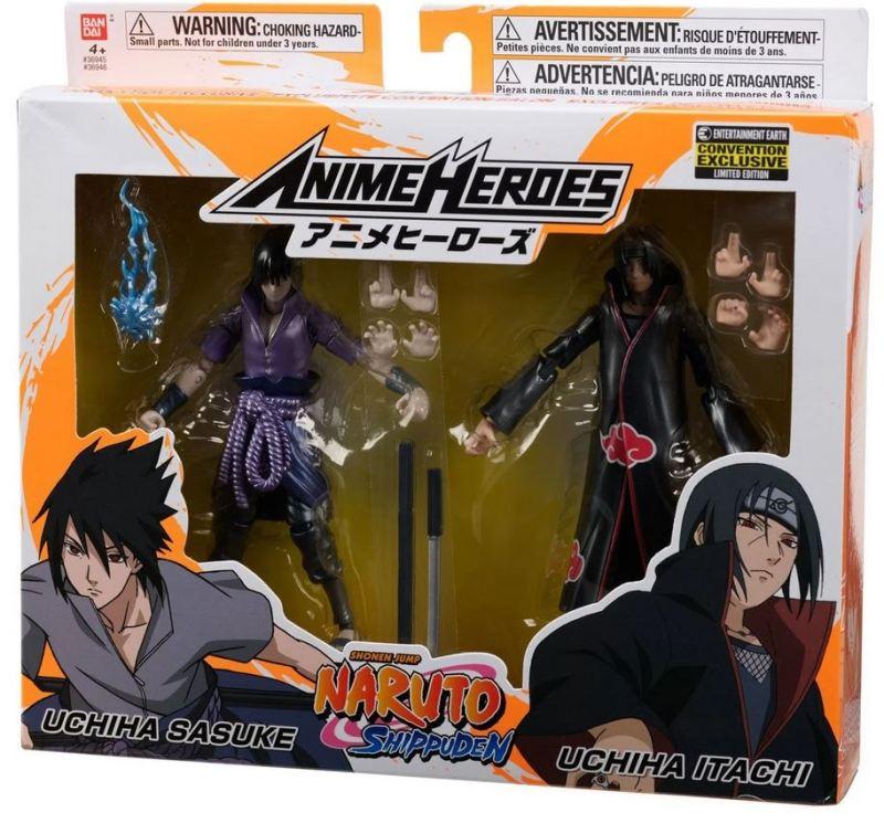 Bandai Anime Heroes Naruto Shippuden Uchiha Itachi Action Figure