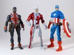 Marvel Universe Wave 5 - Guardian with Union Jack and Captain America.JPG