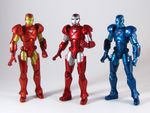 Marvel Universe Wave 5 - Iron Man with body doubles.JPG