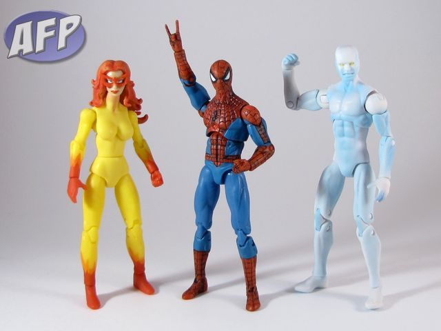 Marvel Universe Toys R Us Exclusive 3-Pack - Spider-Man and His Amazing Friends - Firestar, Spidey, and Iceman