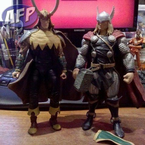 Marvel Legends Custom Hercules and Loki - ActionFigurePics com