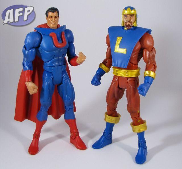 Alexander Luthor NIB DC Universe Classics Battle for Earth 3 2 pack Ultraman VS