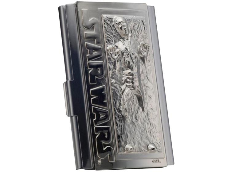 Star Wars Business Card Holder - Han Solo In Carbonite