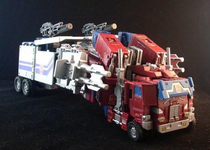 Optimus Prime truck mode