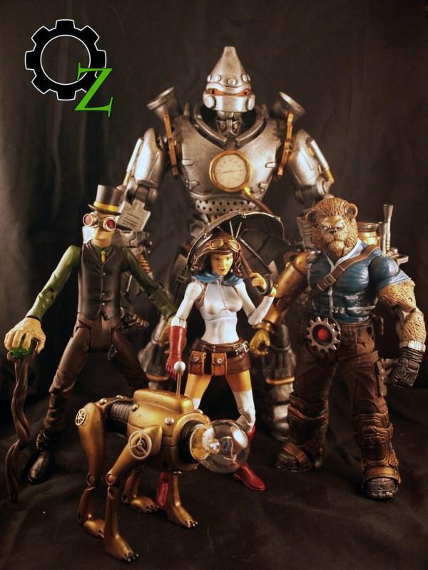 Steampunk Wizard of Oz Scarecrow