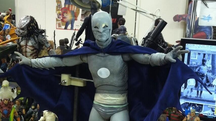 NECA DC Batman Quarter Scale Burt Ward Robin Action Figure