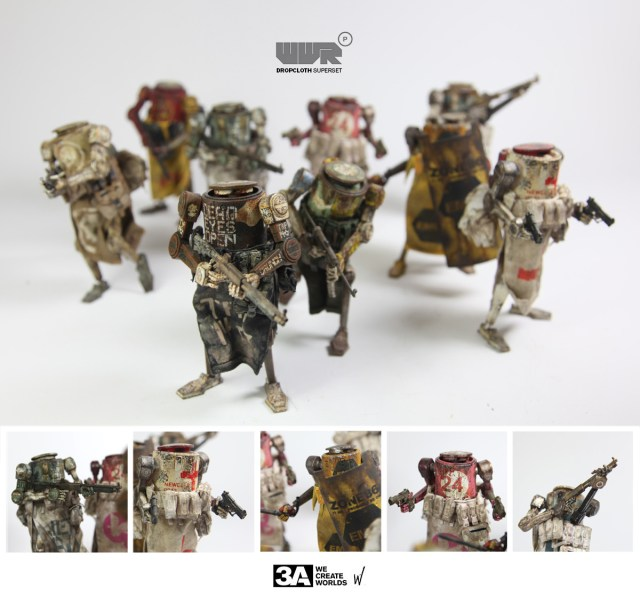 3A Toys Dropcloth Superset