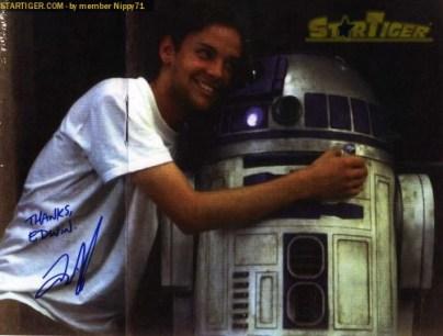 Nathan Hamill autograph