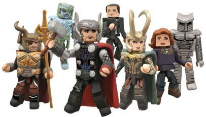 Marvel Minimates Series 39 Thor Movie Asst