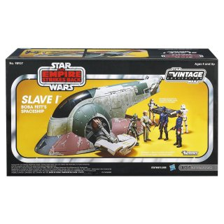 Star Wars The Empire Strikes Back Slave I Boba Fett's Spaceship Vehicle [Amazon Exclusive] 1