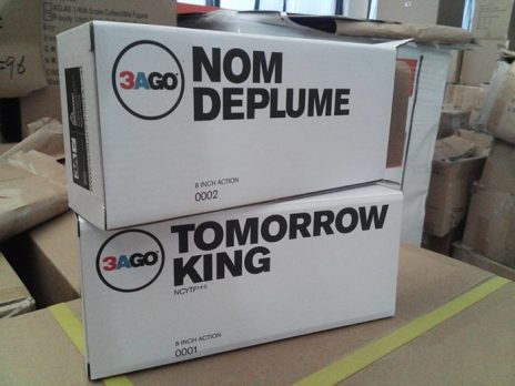 3AGO Nom de Plume and Tomorrow King