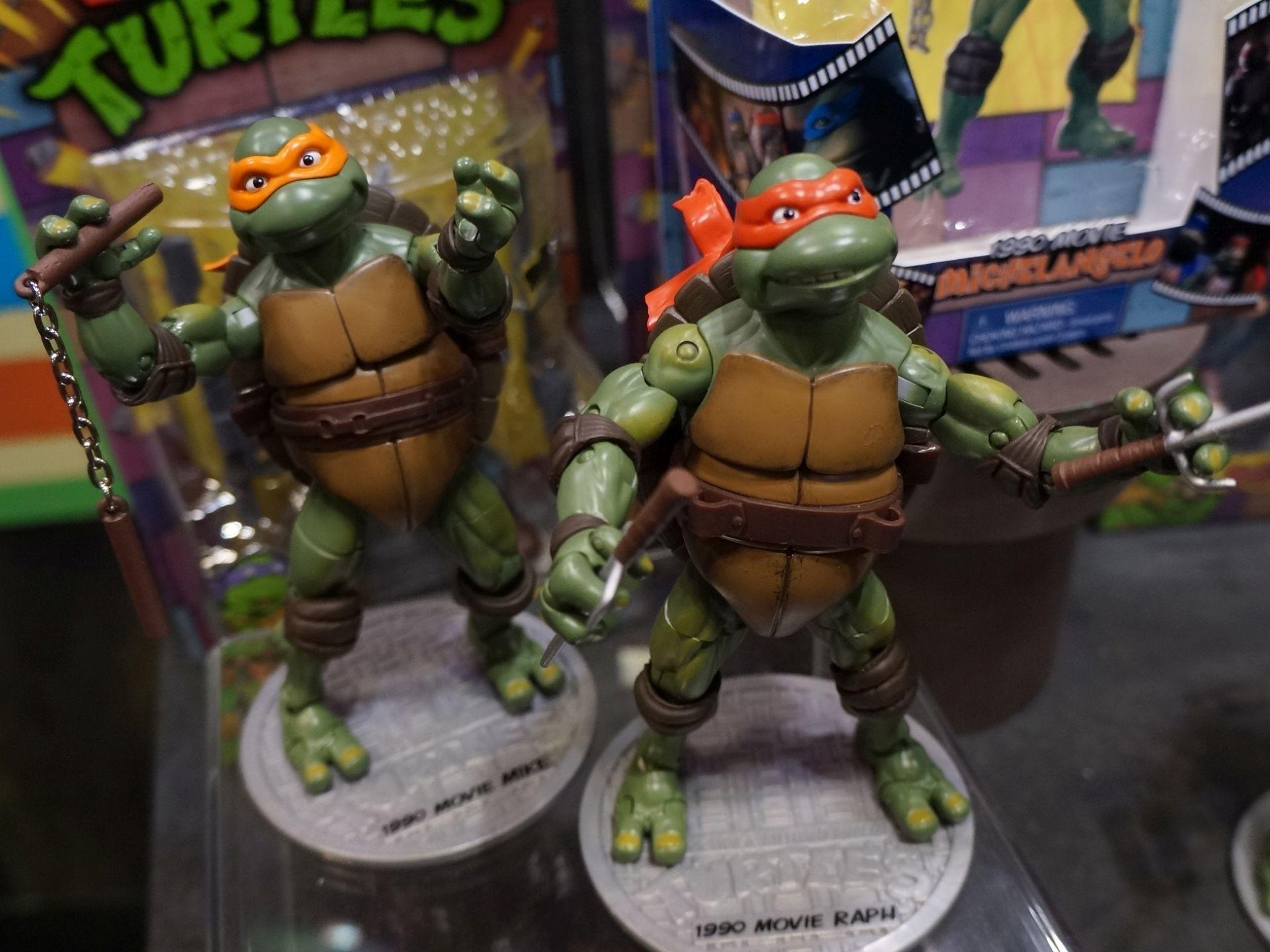 Toy Fair 2014 Playmates Adds 1990 Movie Turtles To Tmnt Classics