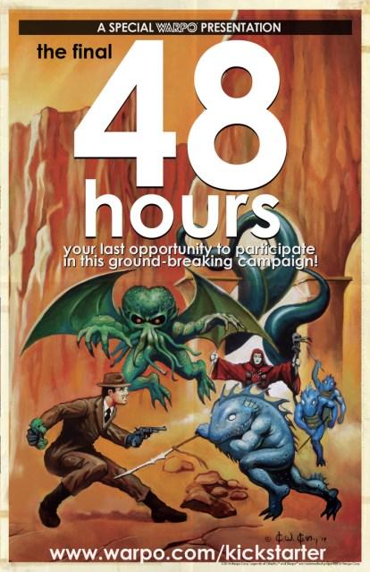 Warpo Legends of Cthulhu 48 Hours