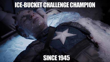 Capn America ICEBUCKET