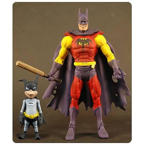 Batman Unlimited Planet X Batman with Batmite Figures