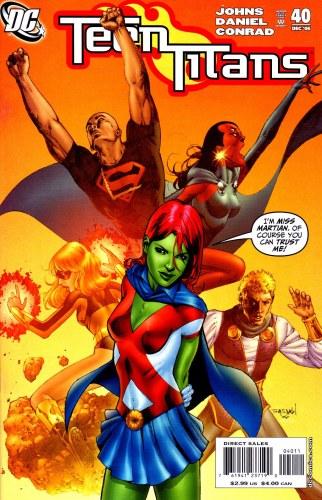 Miss Martian - Teen Titans