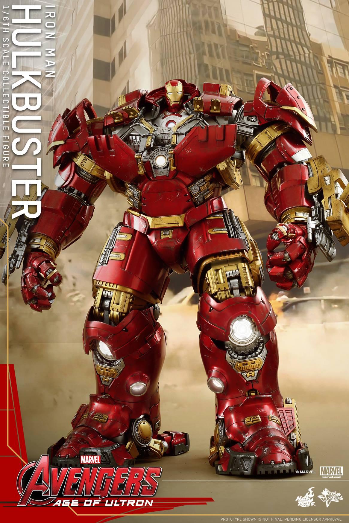 Hot Toys Avengers: Age of Ultron - Hulk and Hulkbuster ...