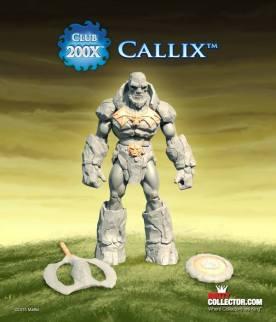 Masters of the Universe Classics Club 200X Callix