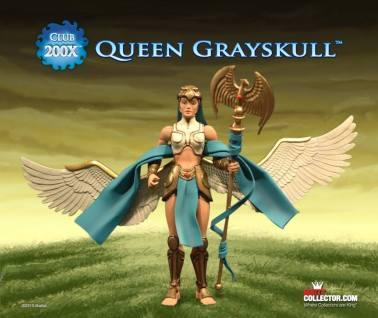 Masters of the Universe Classics Club 200X Queen Grayskull
