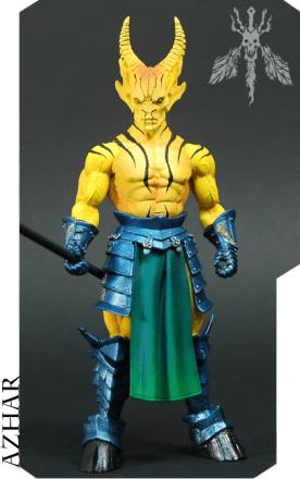 Mythic Legions Azhar