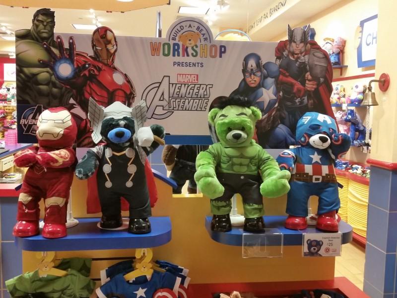 Build-A-Bear Workshop presents Marvel Avengers Assemble