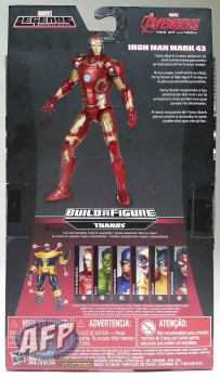 Marvel Legends Thanos wave - Iron Man, Hulk, and Captain America packaging (2 of 7)
