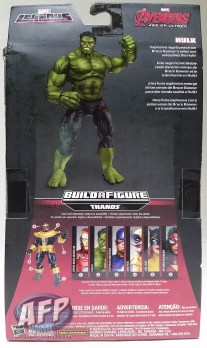 Marvel Legends Thanos wave - Iron Man, Hulk, and Captain America packaging (4 of 7)