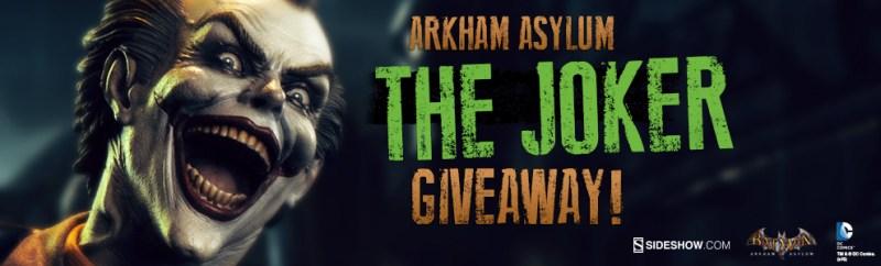 Sideshow Collectibles Arkham Asylum Joker Premium Format Figure Giveaway