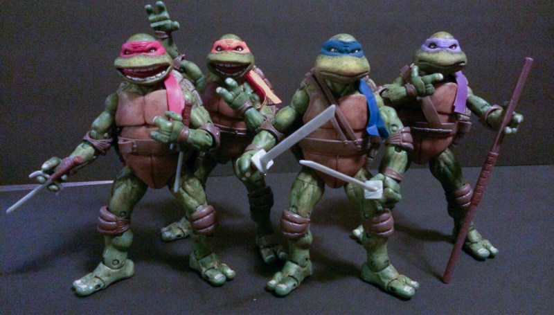 Custom Classic Movie Teenage Mutant Ninja Turtles TMNT (1 of 5)