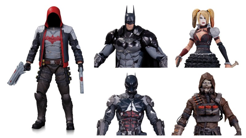 DC Collectibles Arkham Knight with Gamestop exclusive Red Hood