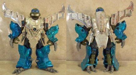 Playmates TMNT Metal Mutants Leonardo 1995 - loose