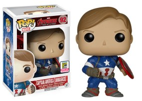 Pop! Marvel Avengers Age of Ultron - Captain American Unmasked