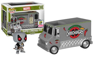 Pop! Rides X-Force Deadpool's Chimichanga Truck