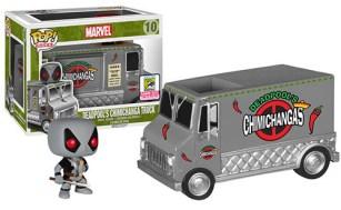 Pop! Rides X-Force Deadpool's Chimichanga Truck