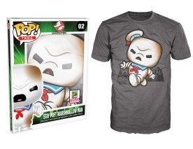 Pop! Tees Ghostbusters - Burnt Stay Puft