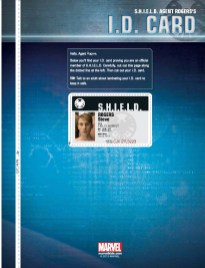 Put Me In The Story (Avengers Black Ops Field Guide) - 3 SHIELD ID card