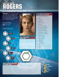 Put Me In The Story (Avengers Black Ops Field Guide) - 8 Agent Rogers profile