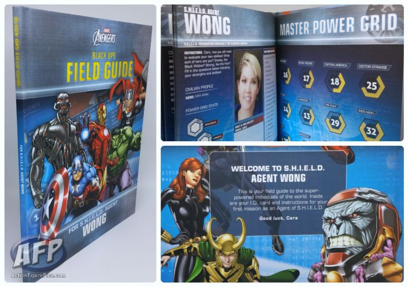 Put Me In The Story - Avengers Black Ops Field Guide - Agent Random Things
